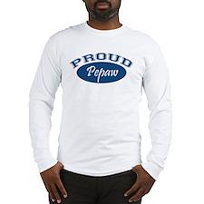 Proud Pepaw (blue) Long Sleeve T-Shirt