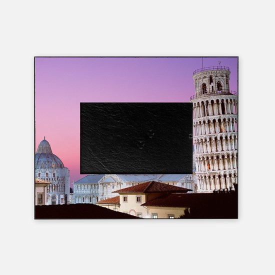 Cute Pisa Picture Frame