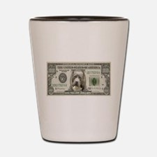 Pit Bull Money Shot Glass