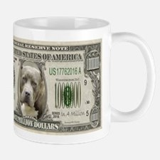 Pit Bull Money Mugs