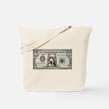 Pit Bull Money Tote Bag
