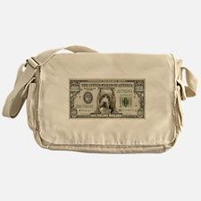 Pit Bull Money Messenger Bag