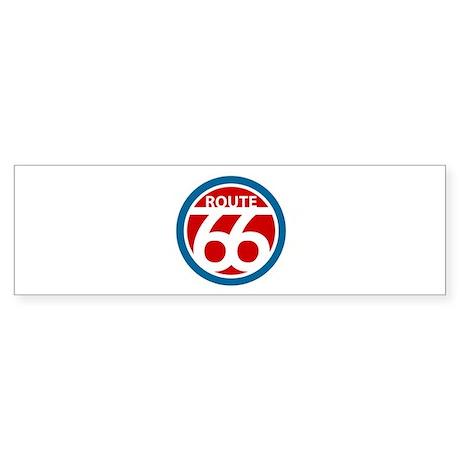 Modern 66 Bumper Sticker