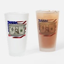Pitbull BULLY Dog USA Bill Drinking Glass