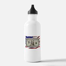 Pitbull BULLY Dog USA Bill Water Bottle