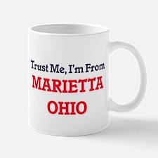 Trust Me, I'm from Marietta Ohio Mugs