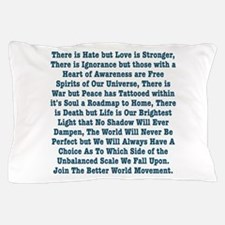 The Unbalanced Scale Pillow Case