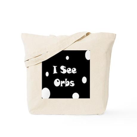 I See Orbs Tote Bag