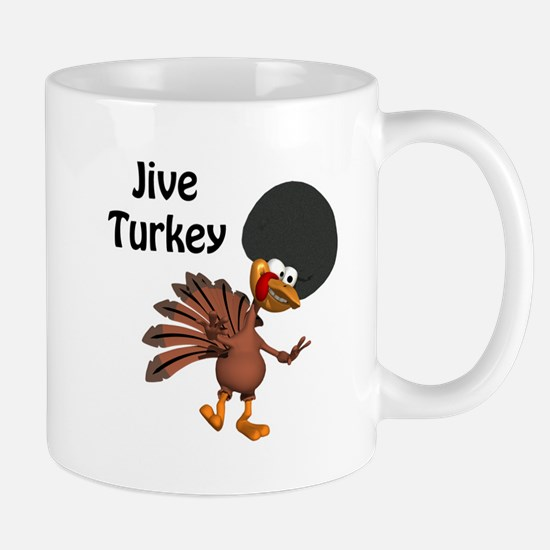 Funny Afro Jive Turkey Mug