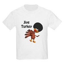 Funny Afro Jive Turkey T-Shirt