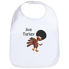 Funny Afro Jive Turkey Bib