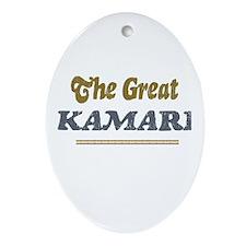 Kamari Oval Ornament
