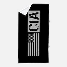 CIA: CIA (Black Flag) Beach Towel