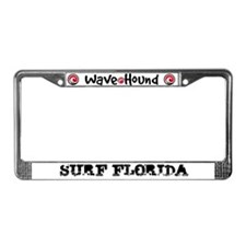Surf Florida License Plate Frame