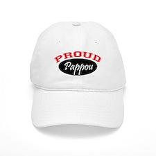 Proud Pappou (red and black) Cap