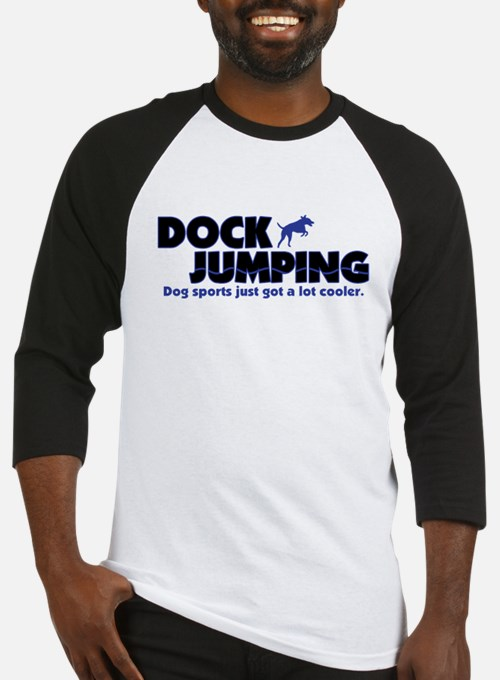 Cool Dock Jumping Baseball Jersey