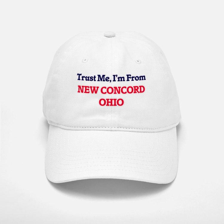 Trust Me, I'm from New Concord Ohio Baseball Baseball Cap