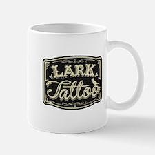 Lark Tattoo - design 3 Mugs