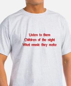 Children of the Night Black T-Shirt