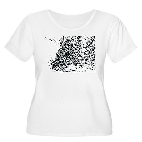 Mouse Women's Plus Size Scoop Neck T-Shirt
