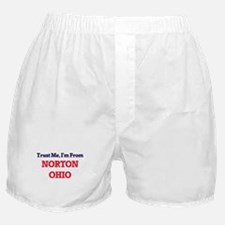 Trust Me, I'm from Norton Ohio Boxer Shorts