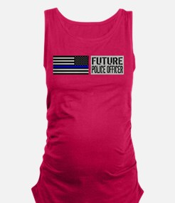 Police: Future Police Officer ( Maternity Tank Top