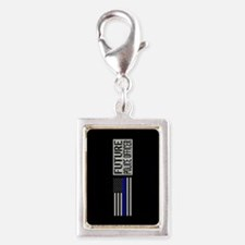 Police: Future Police Office Silver Portrait Charm
