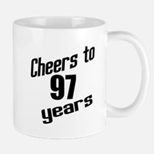 Cheers To 97 Years Birthday Mug