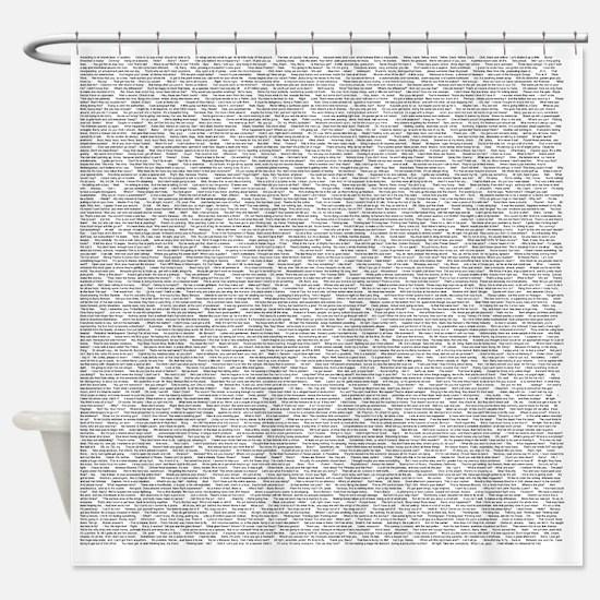 Unique Movie Shower Curtain