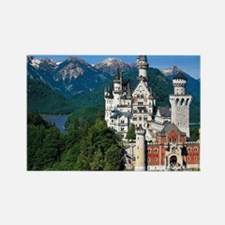 Cute Castle germany Rectangle Magnet