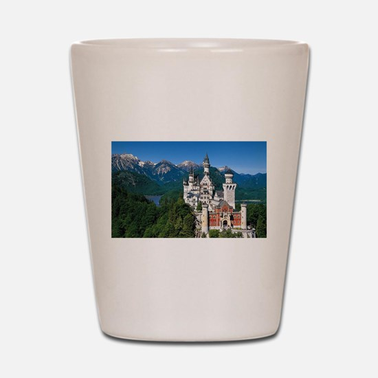 Neuschwanstein Castle Bavaria Germany Shot Glass
