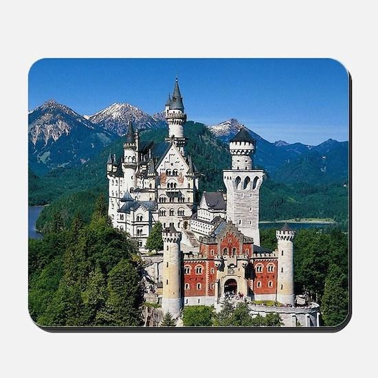 Neuschwanstein Castle Bavaria Germany Mousepad