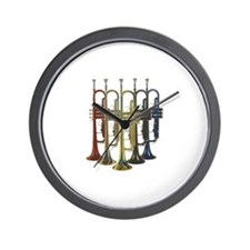 Trumpets Multi Wall Clock