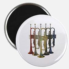 "Trumpets Multi 2.25"" Magnet (100 pack)"