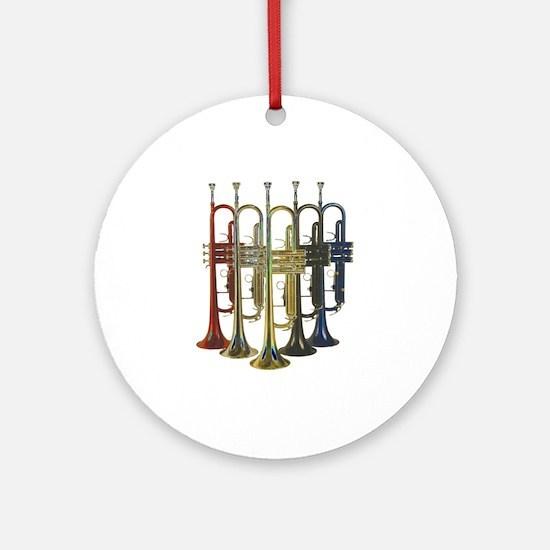 Trumpets Multi Ornament (Round)