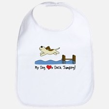 Cartoon Dock Jumping Bib
