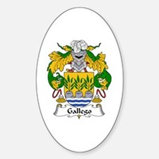 Gallego Oval Decal