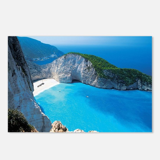Unique Greece Postcards (Package of 8)