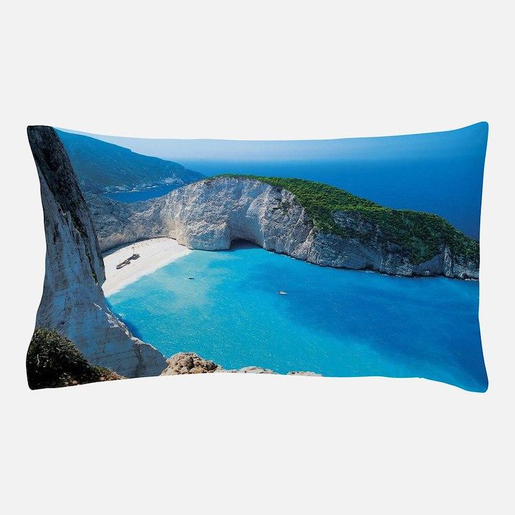 Cute Greece Pillow Case