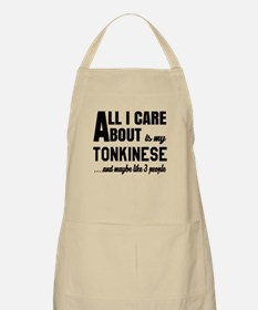All I care about is my Tonkinese Apron