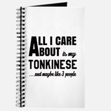 All I care about is my Tonkinese Journal