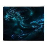 Blue dragon Fleece Blankets
