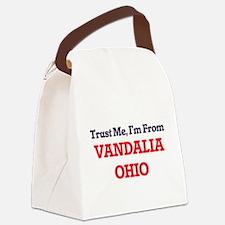 Trust Me, I'm from Vandalia Ohio Canvas Lunch Bag