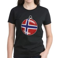Norway Christmas Ornament graphic Tee