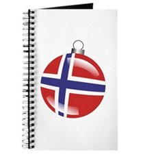 Norway Christmas Ornament graphic Journal