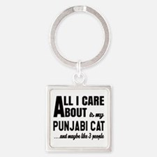 All I care about is my Punjabi Square Keychain