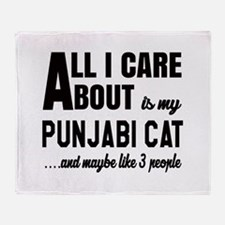 All I care about is my Punjabi Throw Blanket
