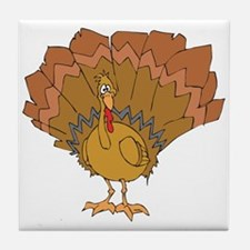 Goofy Turkey Tile Coaster