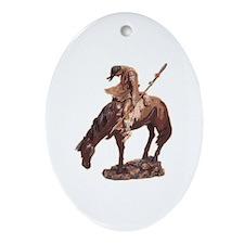 Native American Oval Ornament