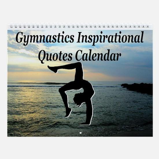 Gymnast Motivate Wall Calendar